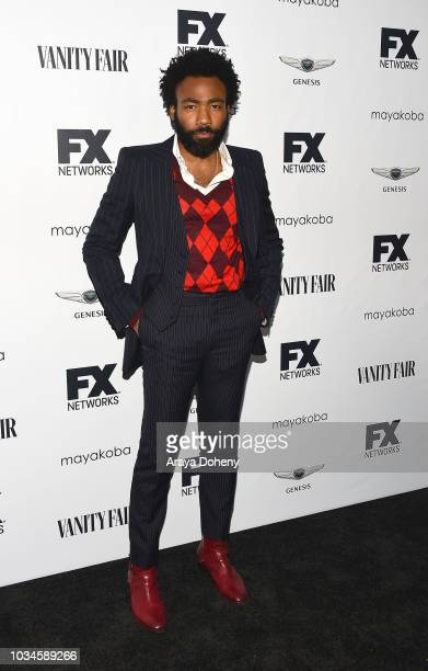 Donald Glover attends FX Networks celebration of their Emmy nominees at CRAFT LA on September 16, 2018 in Los Angeles, California.