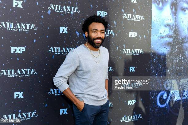 "Donald Glover attends FX's ""Atlanta Robbin' Season"" FYC Event at Saban Media Center on June 8, 2018 in North Hollywood, California."