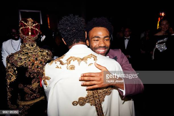 Donald Glover attends Heavenly Bodies Fashion The Catholic Imagination Costume Institute Gala at The Metropolitan Museum of Art on May 7 2018 in New...