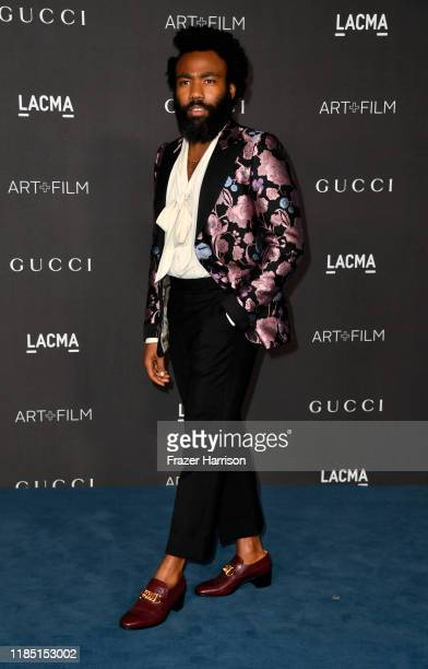 Donald Glover attends the 2019 LACMA Art Film Gala Presented By Gucci at LACMA on November 02 2019 in Los Angeles California