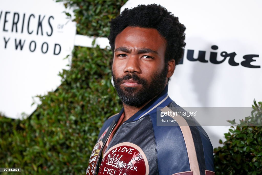 Donald Glover attends the Esquire's Annual Maverick's of Hollywood at Sunset Tower on February 20, 2018 in Los Angeles, California.
