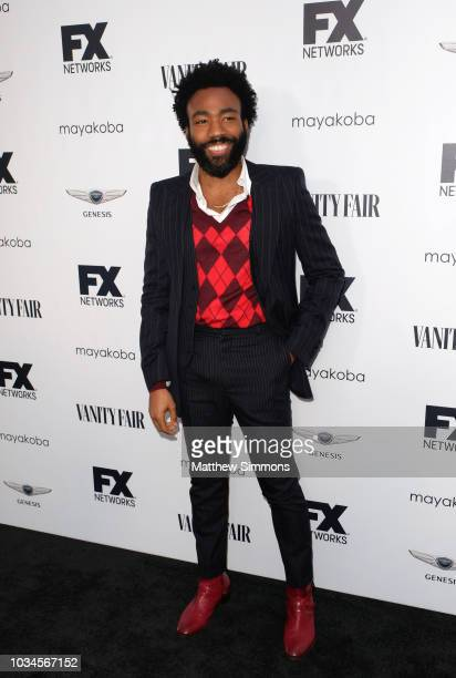 Donald Glover attends the FX And Vanity Fair Emmy Celebration at CRAFT LA on September 16, 2018 in Los Angeles, California.
