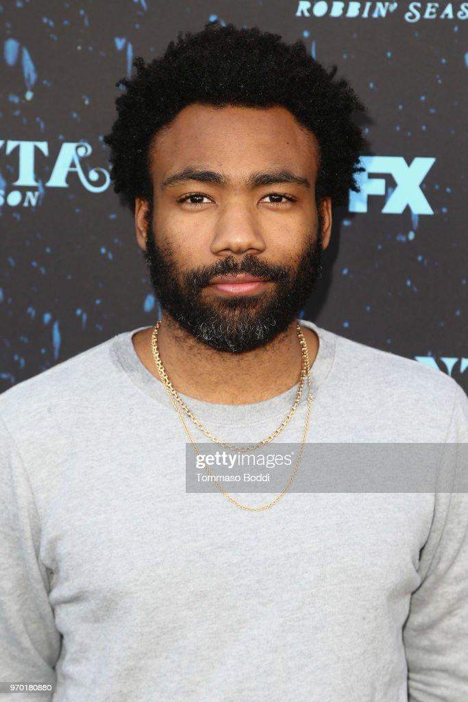 Donald Glover attends the FX's 'Atlanta Robbin' Season' FYC Event at Saban Media Center on June 8, 2018 in North Hollywood, California.