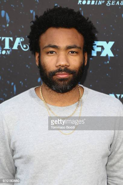 "Donald Glover attends the FX's ""Atlanta Robbin' Season"" FYC Event at Saban Media Center on June 8, 2018 in North Hollywood, California."