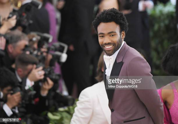 Donald Glover attends the Heavenly Bodies Fashion The Catholic Imagination Costume Institute Gala at The Metropolitan Museum of Art on May 7 2018 in...