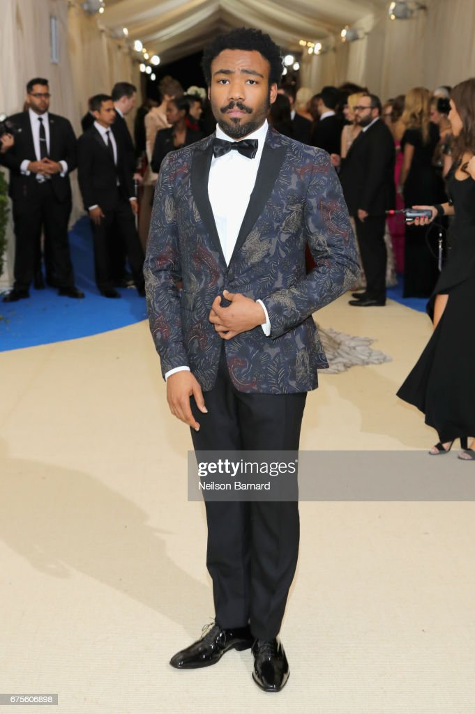 Donald Glover attends the 'Rei Kawakubo/Comme des Garcons: Art Of The In-Between' Costume Institute Gala at Metropolitan Museum of Art on May 1, 2017 in New York City.