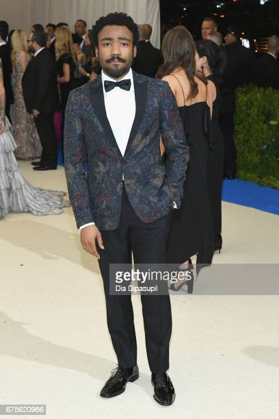 Donald Glover attends the 'Rei Kawakubo/Comme des Garcons Art Of The InBetween' Costume Institute Gala at Metropolitan Museum of Art on May 1 2017 in...
