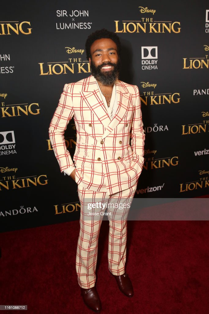 "The World Premiere Of Disney's ""THE LION KING"" : News Photo"