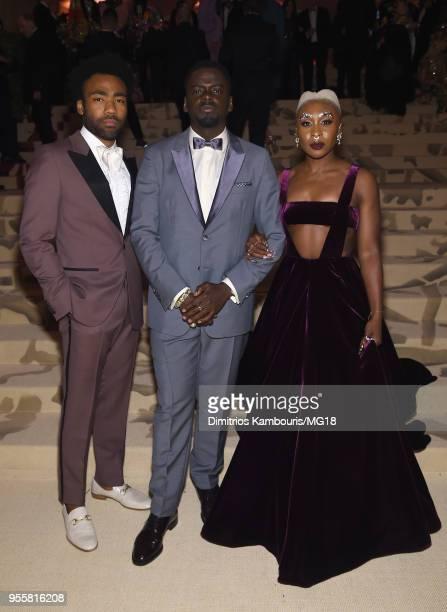 Donald Glover Daniel Kaluuya and Cynthia Erivo attend the Heavenly Bodies Fashion The Catholic Imagination Costume Institute Gala at The Metropolitan...