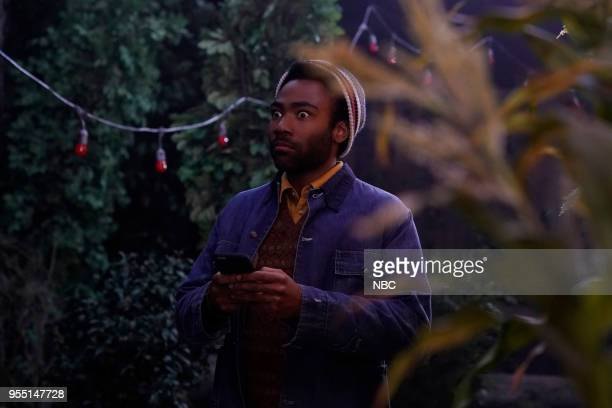 LIVE Donald Glover Episode 1744 Pictured Donald Glover during 'A Quiet Place' on Saturday May 5 2018