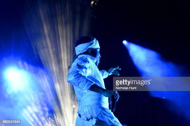 Donald Glover of Childish Gambino performs onstage during the 2017 Governors Ball Music Festival - Day 2 at Randall's Island on June 3, 2017 in New...