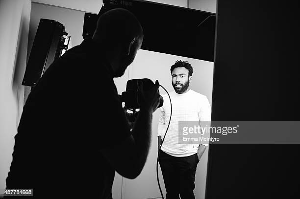 Donald Glover poses for a portrait in the Guess Portrait Studio at the Toronto International Film Festival on September 11 2015 in Toronto Canada