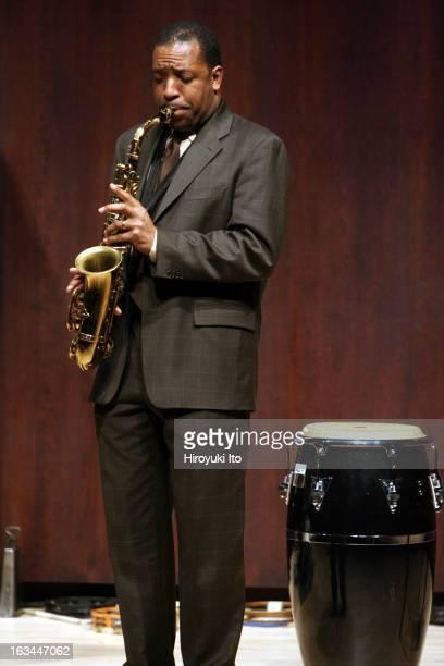 Donald Harrison with Juilliard Jazz Ensemble at Paul Hall on Monday night, February 12, 2007.