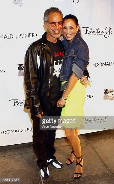 Donald J Pliner and Lisa during Grand Opening Of The Donald J Pliner Boutique In Beverly Hills Benefiting The Mark Wahlberg Youth Foundation Arrivals...