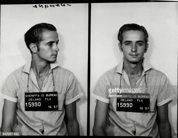 Donald J Wedler is being held by the police of Deland Florida after confessing to the slaying of Mrs Marilyn Sheppard in Cleveland Ohio Under intense...