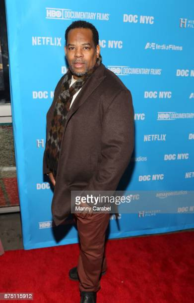 Donald Jarmond attends the 2017 DOC NYC World Premiere of 'Maynard' at IFC Center on November 16 2017 in New York City