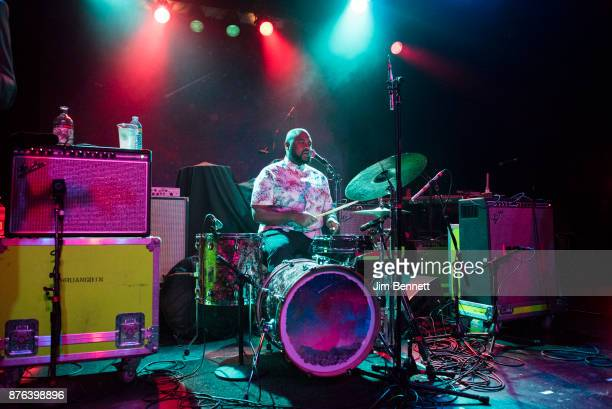 Donald Johnson Jr of Khruangbin performs live on stage at The Showbox on November 18 2017 in Seattle Washington
