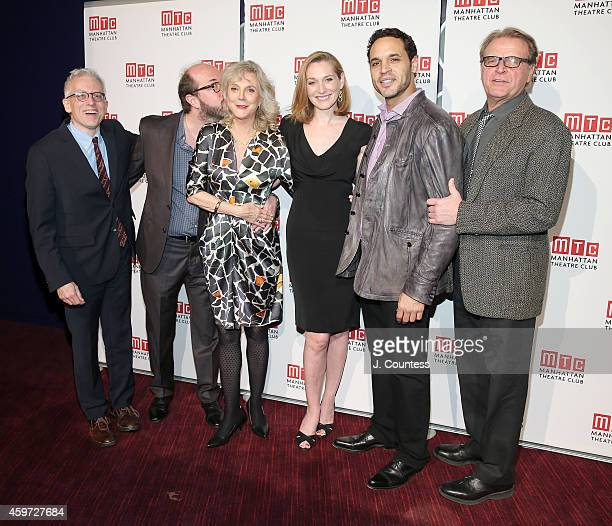 Donald Margulies Eric Lange actress Blythe Danner actress Kate Jennings Grant actor Daniel Sunjata and actor David Rasche attend the Manhattan...