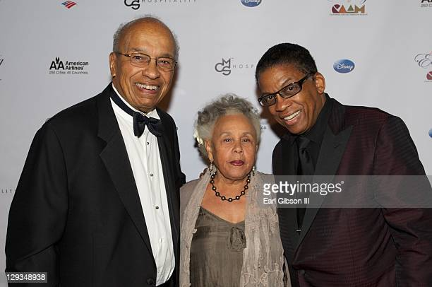 Donald McKayle Betye Saar and Herbie Hancock serve as honored guest for their lifetime achievements at 'An Artful Evening At CAAM' on October 15 2011...