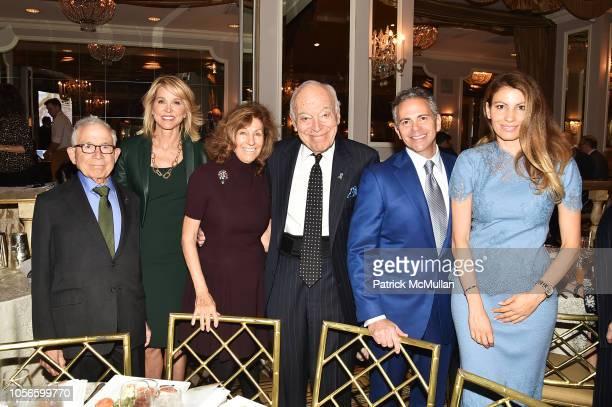 Donald Newhouse Paula Zahn Judy Glickman Lauder Leonard A Lauder David Weinreb and Ana Laspetkovski attend Alzheimer's Drug Discovery Foundation's...