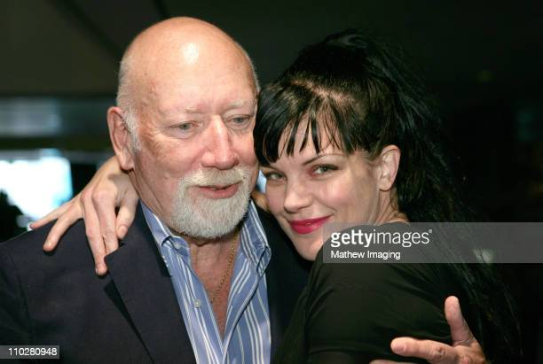 Donald P Bellisario and Pauley Perrette during CBS Paramount Network Television presents 'For Your Consideration' screening of NCIS at Leonard H...