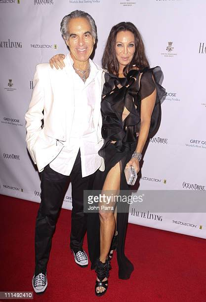 Donald Pliner and Lisa Pliner attend The Blacks Annual Gala at Eden Roc a Renaissance Beach Resort and Spa on April 2 2011 in Miami Beach Florida