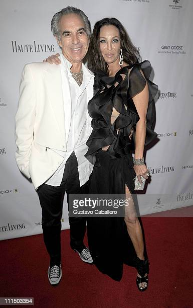 Donald Pliner and Lisa Pliner attends the gala to benefit atrisk youth at Eden Roc Renaissance on April 2 2011 in Miami Beach Florida