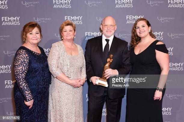Donald R Allen Jr and Family attend 2018 Femmy Awards hosted by Dita Von Teese on February 6 2018 in New York City