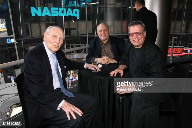 Donald Saddler Mitch Douglas and Tom Gates attend LIZA MINNELLI JOAN RIVERS TOMMY TUNE ARLENE DAHL ROBERT OSBORNE and MICHAEL FEINSTEIN attend a...