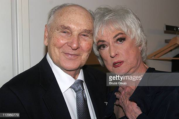 Donald Sadler and Bea Arthur during Bea Arthur Back on Broadway A Benefit for The Ali Forney Center at Symphony Space in New York City New York...