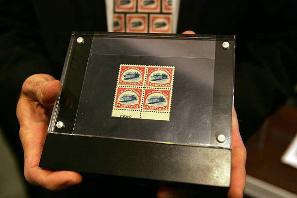 Collectors Trade Rare Stamps Worth Millions Photos And Images Getty Images