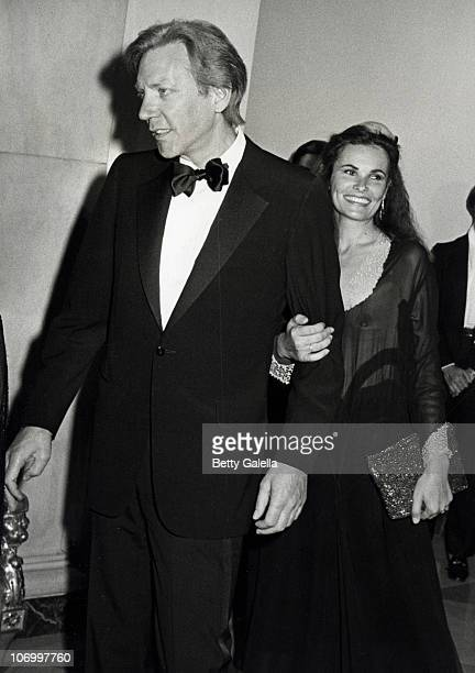 Donald Sutherland and Francine Racette during Reception for The Kennedy Center Nominees at The White House December 7 1980 at The White House in...