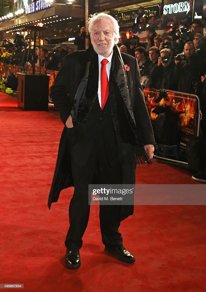 """The Hunger Games: Mockingjay Part 2"" - UK Premiere - VIP Arrivals"