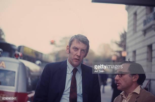 Donald Sutherland circa 1970 New York