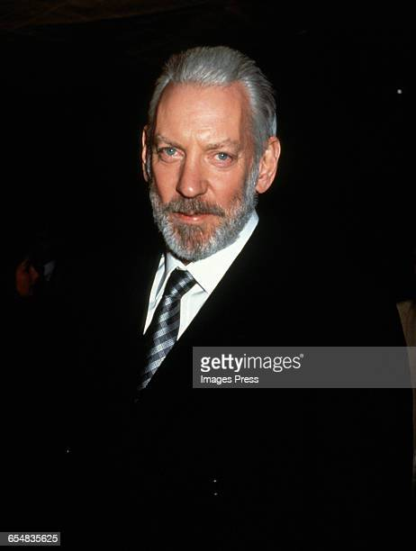 Donald Sutherland circa 1993 in New York City
