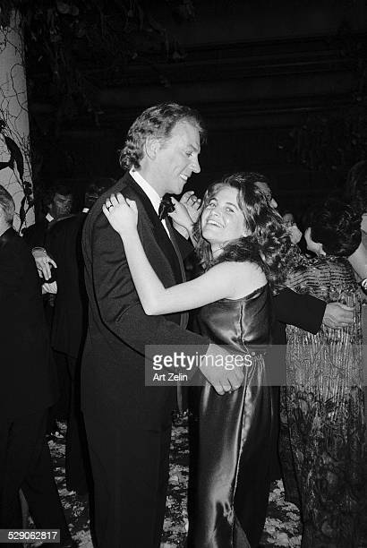 Donald Sutherland dancing with a young lady circa 1960 New York