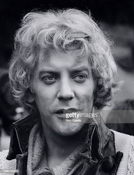 Donald Sutherland during On Location Filming 'Two by Two' October 1 1968 at Paris France in Paris France France