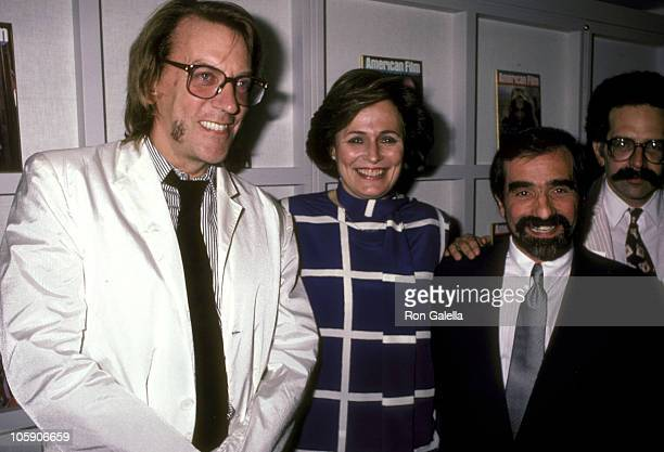 Donald Sutherland Jean Picker Firstenberg and Martin Scorsese