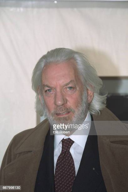 Donald Sutherland who plays Jerry O'Neill in Clint Eastwood's 'Space Cowboys'