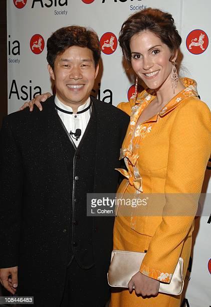 Donald Tang, chairman, Asia Society Southern California and Jami Gertz