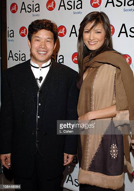 Donald Tang chairman Asia Society Southern California and Kelly Hu