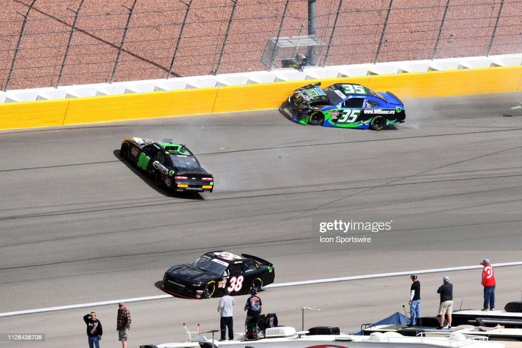 Donald Theetge Mario Gosselin Chevrolet Camaro and Joey Gase MBM
