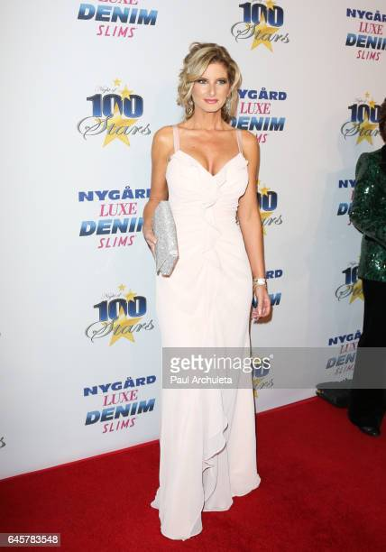 Donald Trump Accuser Summer Zervos attends the 27th annual Night Of 100 Stars black tie dinner viewing gala at The Villa Aurora on February 26 2017...