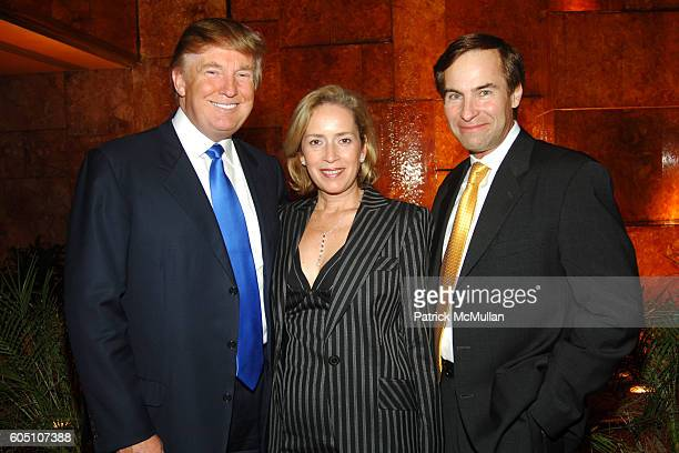 Donald Trump Alicia Cervera Jr and Jean Francois Roy attend Donald Trump and Jorge Perez host a Reception to Celebrate AVENUE's September Issue...