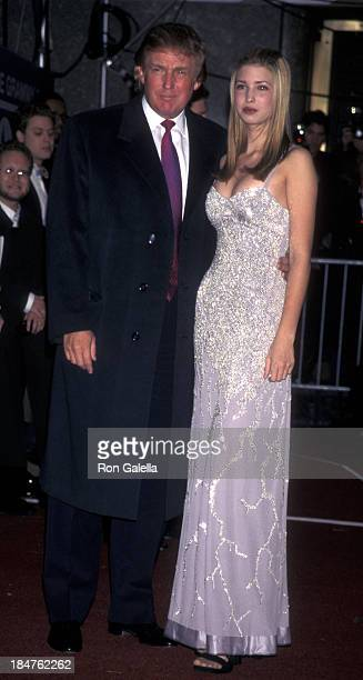 Donald Trump and Ivanka Trump attend 40th Annual Grammy Awards on February 25 1998 at Radio City Music Hall in New York City