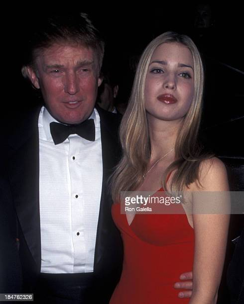 Donald Trump and Ivanka Trump attend PreValentine's Day Party for Ivana Trump on February 12 1998 at Chaos in New York City