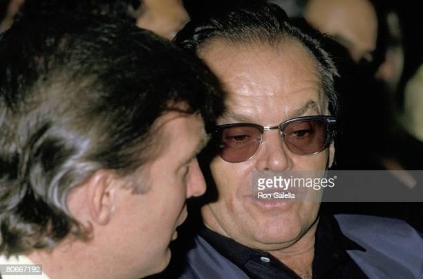 Donald Trump and Jack Nicholson