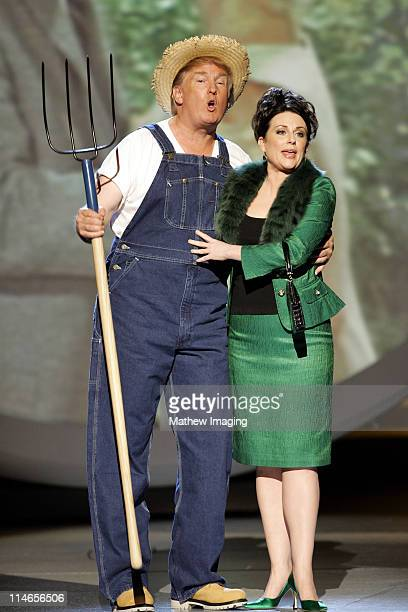 Donald Trump and Megan Mullally perform the Green Acres theme song for Emmy Idol
