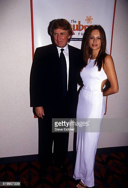Donald Trump and Melania attend the premiere of 'Star Wars The Phantom Menace' New York May 16 1999
