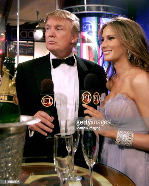 Donald Trump and Melania Trump * Exclusive Coverage *